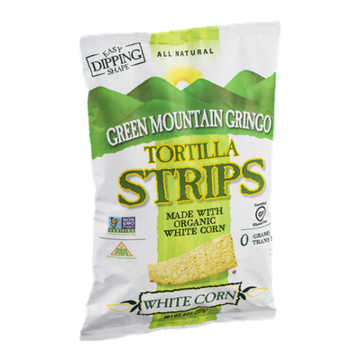 Green Mountain Gringo Tortilla Strips White Corn