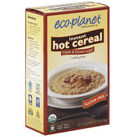 Eco-Planet Maple & Brown Sugar Instant Hot Cereal, 8.46 oz (Pack of 6)
