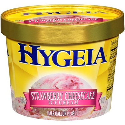 Hygeia: Strawberry Cheesecake Ice Cream, 12 Gal