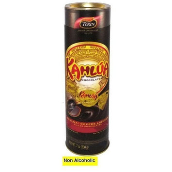 Kahlua Flavored Non Alcoholic Chocolates in a Tube Pack of 2