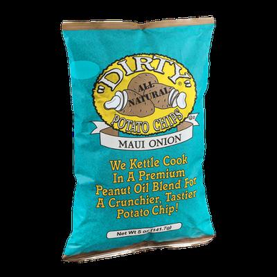 Dirty All Natural Potato Chips Maui Onion