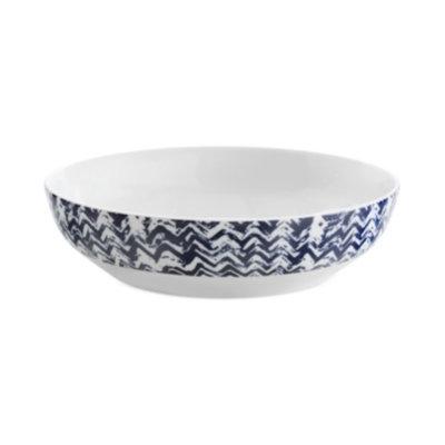 Vera Wang Wedgwood Simplicity Indigo Chevron Pasta Bowl