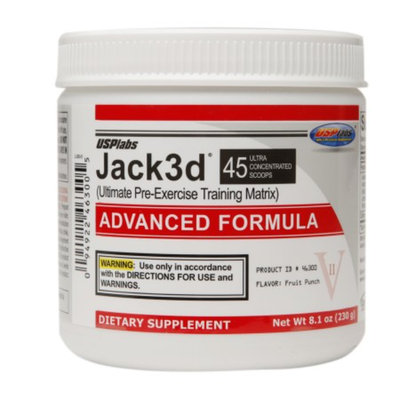 USPlabs Jack3d Advanced Formula Fruit Punch