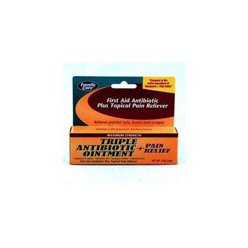 Family Care Family Care Maximum Strength Antibiotic Ointment- Case of 24