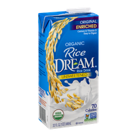 Rice Dream Rice Drink Unsweetened Organic