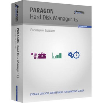 Paragon 299PMEBLT1 Hard Disk Manager 15 Premium (Email Delivery)
