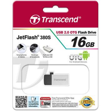 Transcend TS16GJF380S Jetflash 380 Usb 16Gb Silver