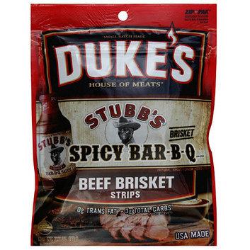 Duke's House Of Meats Spicy Bar-B-Q Beef Brisket Jerky Strips