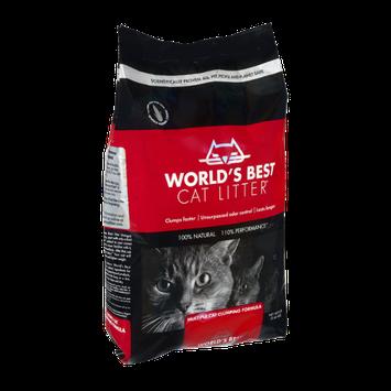 World's Best Cat Litter Multiple Cat Clumping Formula Cat Litter