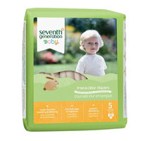 Seventh Generation Baby Free & Clear Diapers, 5, 92 ea