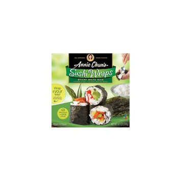 Annie Chun's Rice Express Sushi Wraps Sticky White Rice, 8.1-Ounce Package (Pack of 6)