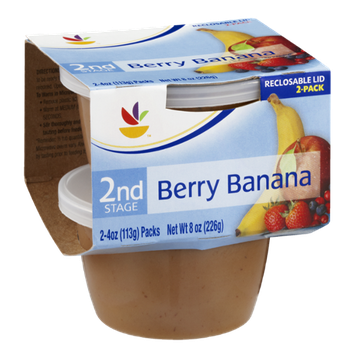 Ahold 2nd Stage Baby Food Berry Banana - 2 CT