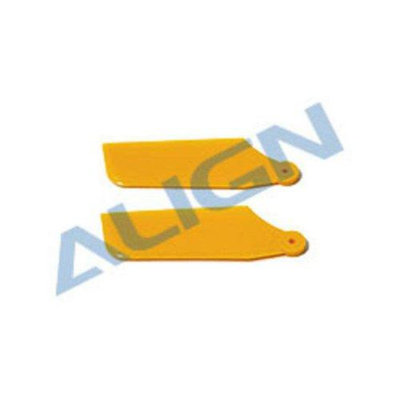 Tail Rotor Blade Set, Yellow:X XL