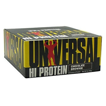 Universal Nutrition Hi Protein Bar Chocolate Brownie 16 - 3 oz (85 g) bars