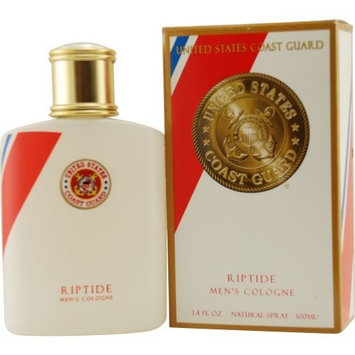 Parfumologie Us Coast Guard Riptide Cologne Spray for Men, 3.4 Ounce