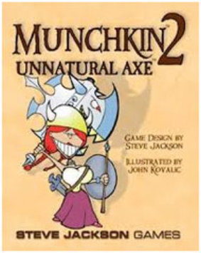 Steve Jackson Games Munchkin 2 Unnatural Axe