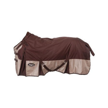 Jt International Tough-1 Snuggit 1680D Turnout Blanket 78 Brown