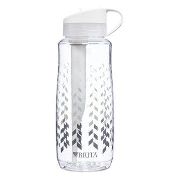 Brita Hard Sided Water Filter Bottle 34 oz, Chevron, 1 ea