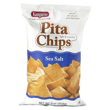 KANGAROO Kangaroo Sea Salt Pita Chips 9 oz