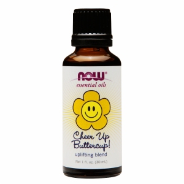 NOW Essential Oils Cheer Up ButterCup Uplifting Blend, 1 fl oz