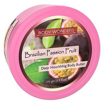 Body Wonders Brazilian Passion Fruit Body Butter 6.9 oz