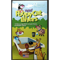 Poopy Products Poopy Cat Liners, Extra Large, 12-Count