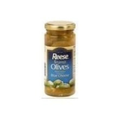 Reese Spanish Queen Stuffed Blue Cheese Olive, 4.75 Ounce -- 6 per case.