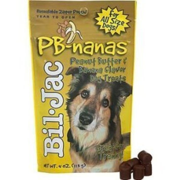 Bil-Jac PB-Nanas Dog Treats 4oz