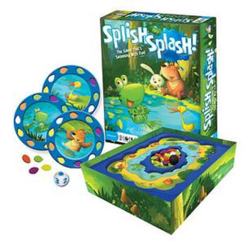 Gamewright Splish Splash Ages 4+, 1 ea