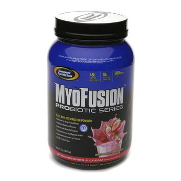 Gaspari Nutrition MyoFusion Protein Probiotic Series Strawberries & Cream