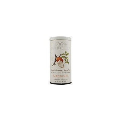 The Republic Of Tea Vanilla Coconut 100% White Tea, 50 Tea Bags