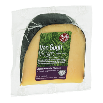 Roth Van Gogh Vintage Aged Gouda Cheese