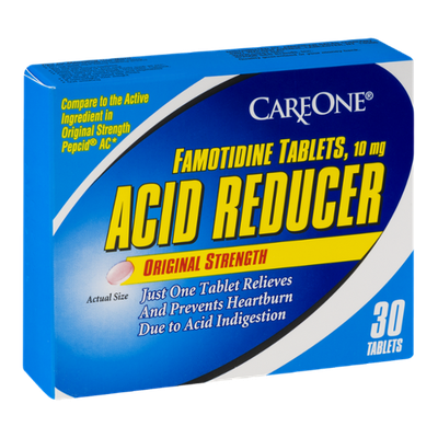 CareOne Acid Reducer Tablets Original Strength