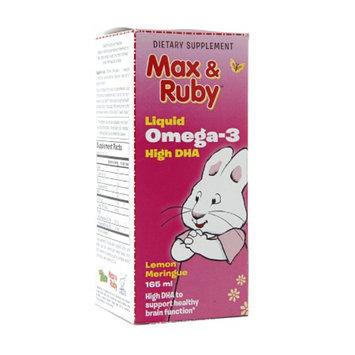 Treehouse Max & Ruby Liquid Omega-3 High DHA, Lemon Meringue, 5.61 fl oz