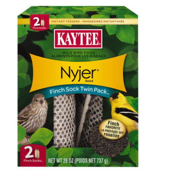 Kaytee KAYTEEA Finch Sock Instant Feeder Twin Pack
