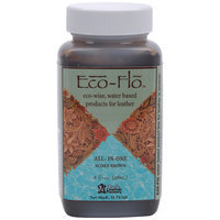 Wmu Eco-Flo All-In-One Leather Stain and Finish Acorn Brown