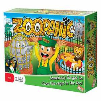 Endless Games Zoo Panic Ages 4+, 1 ea