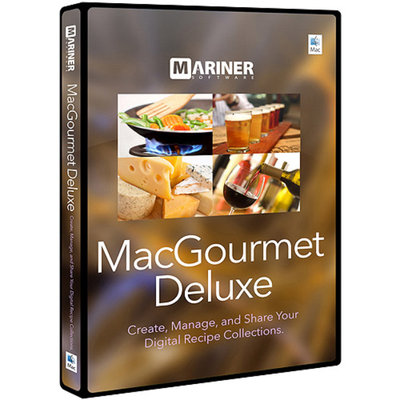 MARINER SOFTWARE Mariner Software MacGourmet Deluxe 4 (Mac)