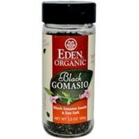 Eden Organic Black Gomasio, 3.5-Ounce Jars (Pack of 12)