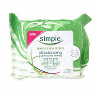 Simple Oil Balancing Cleansing Wipes