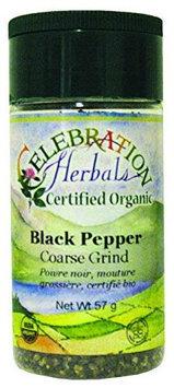 Celebration Herbals Organic Black Pepper Coarse Grind 55 g