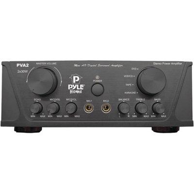 Pyle Home PVA2 60-Watt Hi-Fi Mini Stereo Pyle Home PVA2 60W Hi-Fi Mini Stereo Amp
