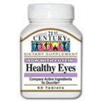 21st Century Vitamins 21st Century Healthy Eyes with Lutein Tablets, 60 Count