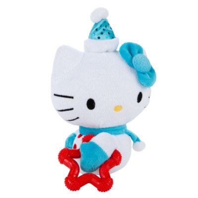Hello Kitty HELLO KITTYA Teether Holiday Dog Toy