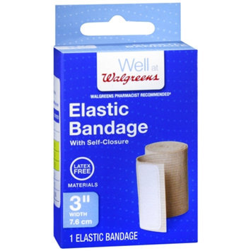 Walgreens Elastic Bandage with Self-Closure, 3 inch, 1 ea