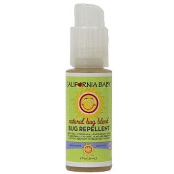 California Baby Natural Bug Blend Bug Repellent, 2 fl oz