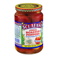 Sclafani Garlic Roasted Peppers