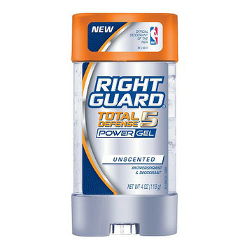 Right Guard Total Defense 5 Total Defense 5 Antiperspirant & Deodorant Power Gel Unscented