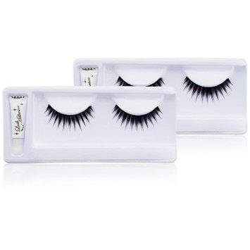NYX Fabulous Eye Lashes, Gorgeous, (Pack of 2)