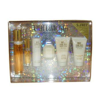 White Diamonds by Elizabeth Taylor 6 Pc Gift Set